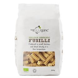 Organic Fusilli Pasta 500g (order in singles or 12 for trade outer)