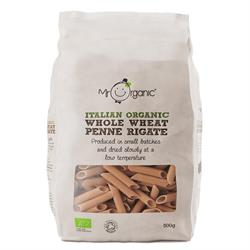 Organic Whole Wheat Penne 500g (order in singles or 12 for trade outer)