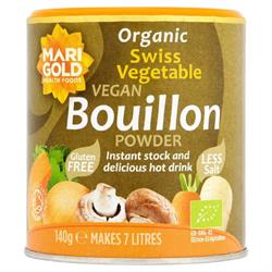 Organic Swiss Reduced Salt Vegetable Bouillon Powder 140g
