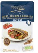 Ready To Eat Grains, Red Rice & Quinoa 250g (order in singles or 6 for retail outer)