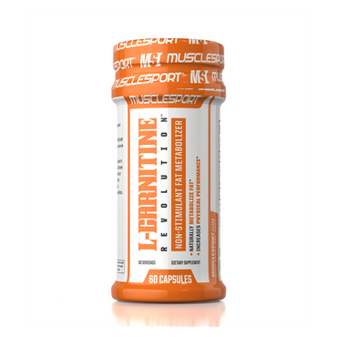 MuscleSport L-Carnitine, 60 Caps