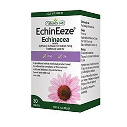 EchinEeze - Echinacea root extract 70mg 30 Tablets (order in singles or 10 for trade outer)