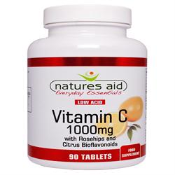 Vit C - 1000mg Low Acid 90 Tablets (order in singles or 10 for trade outer)