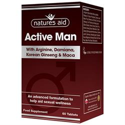 Active Man 60 Tablets (order in singles or 10 for trade outer)