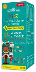 Kidz Milti-Vitamin & Minerals 150ml (order in singles or 10 for trade outer)