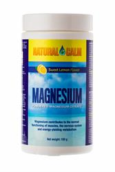 Magnesium Sweet Lemon Flavour 150g (order in singles or 12 for trade outer)