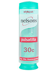 Nelsons Pulsatilla 30c ClikPak 84 tablets (order in singles or 150 for trade outer)