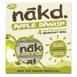 Apple Danish 4x30g Bar Multi-Pack (order in singles or 12 for trade outer)