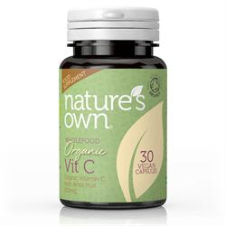 Organic C 200mg (from Amla) 30 capsules