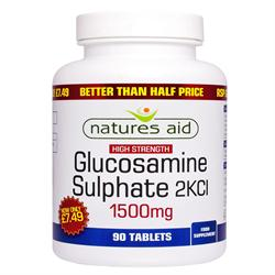 Glucosamine Sulphate - 1500mg - 50% OFF 90 Tabs (order in singles or 10 for trade outer)