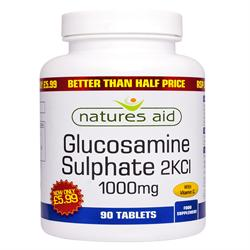 Glucosamine Sulphate - 1000mg (with Vitamin C) - 5 (order in singles or 10 for trade outer)
