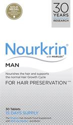 Nourkrin Man 30 Tablets (15 Days Supply) (order in singles or 100 for trade outer)
