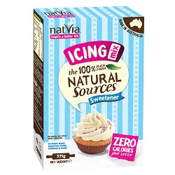 Natvia Sweetener (Sugar Free) Icing Mix 375g (order in singles or 4 for trade outer)