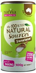 Natvia Sweetener Canister 300g (order in singles or 4 for trade outer)