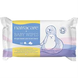 Organic Baby Wipes x 50 (order in singles or 16 for trade outer)