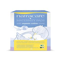 Natural Maternity Pads x 10 (order in singles or 10 for trade outer)