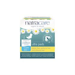 Natural Ultra Pads Super with wings x 12 (order in singles or 12 for trade outer)