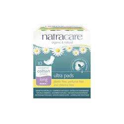 Natural Ultra Pads Long with wings x 10 (order in singles or 12 for trade outer)