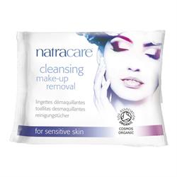 Cleansing Make-Up Removal Wipes for sensitive skin 20's (order in singles or 14 for trade outer)