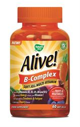 20% OFF Alive! B-Complex Soft Jells 60s (order in singles or 12 for trade outer)