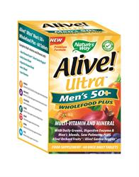 Alive! Ultra Men`s 50+ (order in singles or 12 for retail outer)