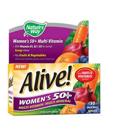 Alive! Womens 50+ OAD 30 Tablet (order in singles or 12 for trade outer)