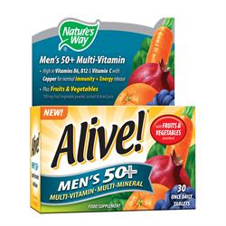 Alive! Mens 50+ OAD 30 Tablet (order in singles or 12 for trade outer)