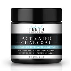 Natural Teeth Whitening Co - Activated Charcoal 50g