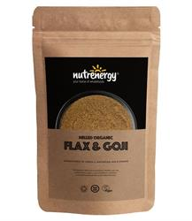 Milled Organic Flaxseed & Goji Berries 200g (order in singles or 15 for trade outer)