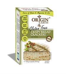 Gluten Free Fennel Crackers 150g (order in singles or 10 for trade outer)