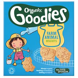 Goodies Animal Biscuits 100g (order in singles or 5 for trade outer)