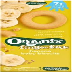 Baby Ring Biscuits Banana 54g (order in singles or 5 for retail outer)