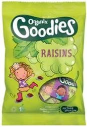 Goodies Raisins - Mini Boxes 12 x 14g (order in singles or 4 for retail outer)