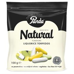 Licorice Torpedos 100g (order 18 for trade outer)