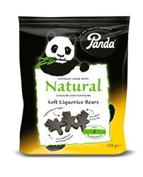 Bear shaped Licorice 125g (order 12 for trade outer)