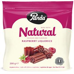 Raspberry Cuts Bag 200g (order 12 for trade outer)