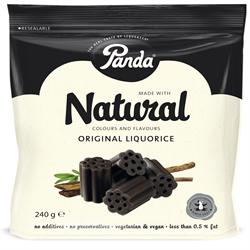 Licorice Cuts Bag 240g (order 12 for trade outer)