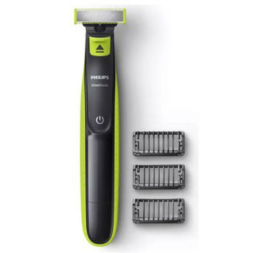 PHILIPS OneBlade | Cordless Electric Face Trimmer | 3 Comb