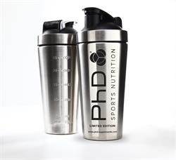 Stainless Steel Shaker 700ml (order in singles or 63 for trade outer)