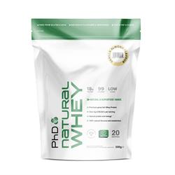 PhD Natural Whey Protein Vanilla Almond 500g (order in singles or 12 for trade outer)