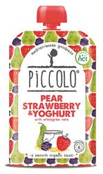 Pear, Strawberry & Blackberry Yoghurt 100g (order 5 for retail outer)