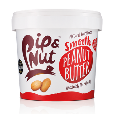 Pip & Nut Smooth Peanut Butter, 1kg
