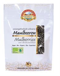 10% OFF Organic Black Mulberries 100g (order in singles or 7 for trade outer)