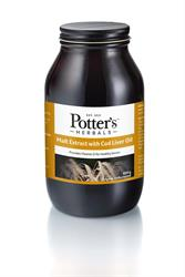 15% OFF Potter Malt Extract and Cod Liver Oil 650g