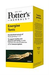 15% OFF Potter's Energise Tonic 250ml (order in singles or 4 for trade outer)