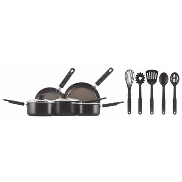 PRESTIGE 10pc Cookware Set | Aluminium |with Spoons