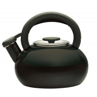 PRESTIGE Whistling Stove Kettle | 1.4L| Induct | Black