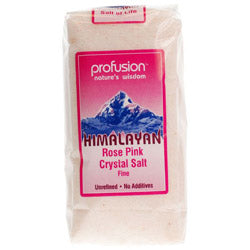 15% OFF Himalayan Rose Pink Salt- Fine 500g (order in singles or 8 for trade outer)