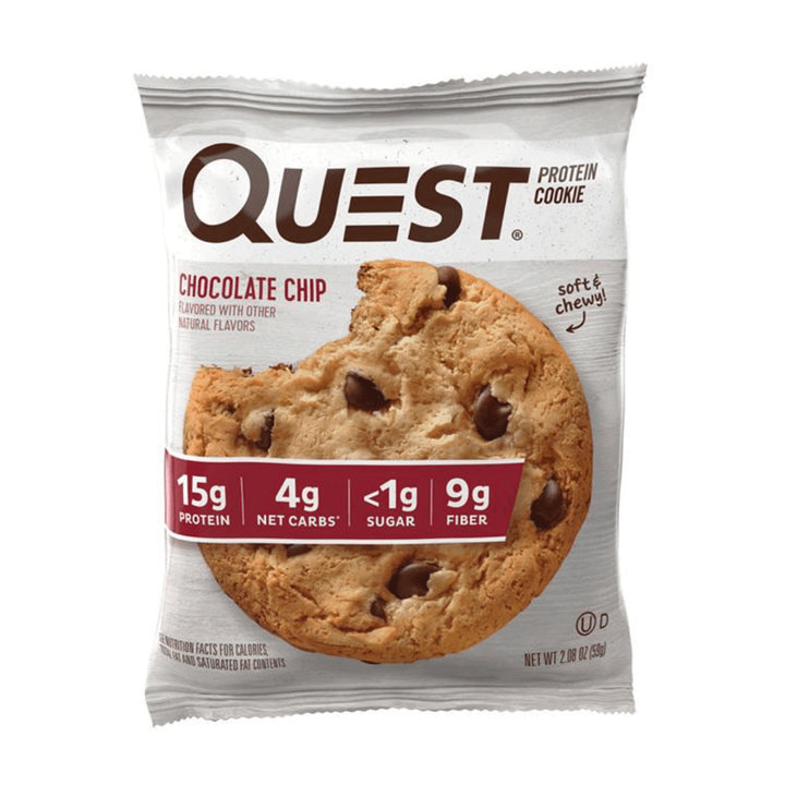 Quest Protein Cookie 12x50g / Chocolate Chip