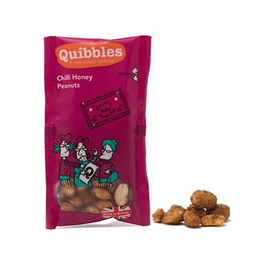 Quibbles Peanuts 28x30g / Chilli Honey